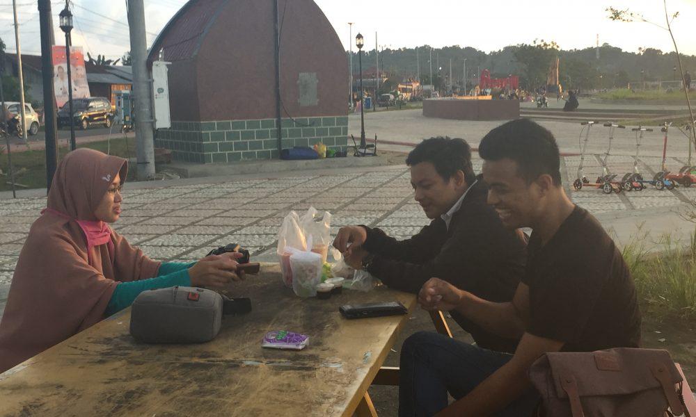 Anjungan Vovasanggayu Tempat Ngabuburit Favorit Warga Pasangkayu
