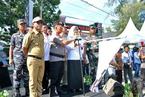 Kapolda Sulbar Pimpin Apel Gelar Pasukan Operasi Ketupat Siamasei 2018