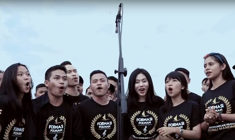 Parade Musik 100 Musisi Polman