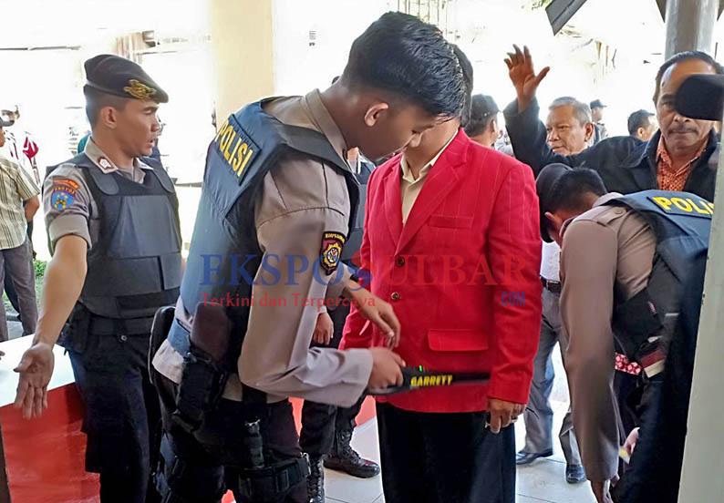 Polres Mamasa Perketat Pengamanan Penetapan Pilkada