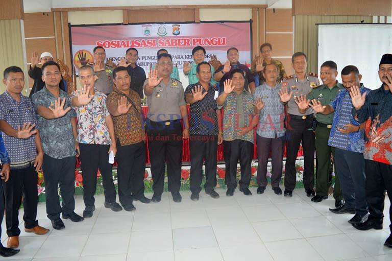 Bersama Ombudsman Tim Saber Pungli Sambangi Mamuju Tengah