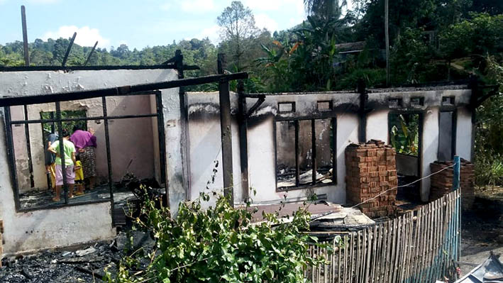 Akibat Kebakaran, Baso Terpaksa Kehilangan Rumah