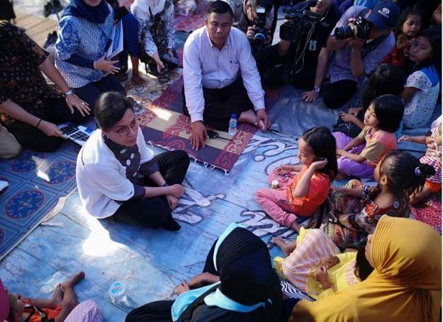 Menkeu: Pemerintah Sudah Cairkan Rp985,8 M untuk Penanganan Gempa di Lombok