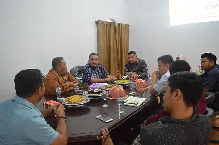 Anggota Komisi II DPR RI Sambangi Kantor Ombudsman Sulbar