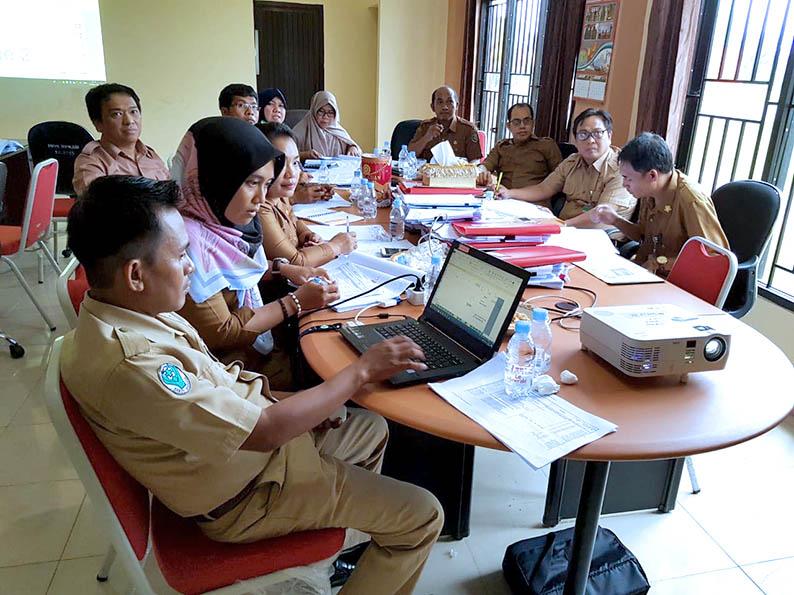 TAPD Finalisasi RKA-SKPD 2019