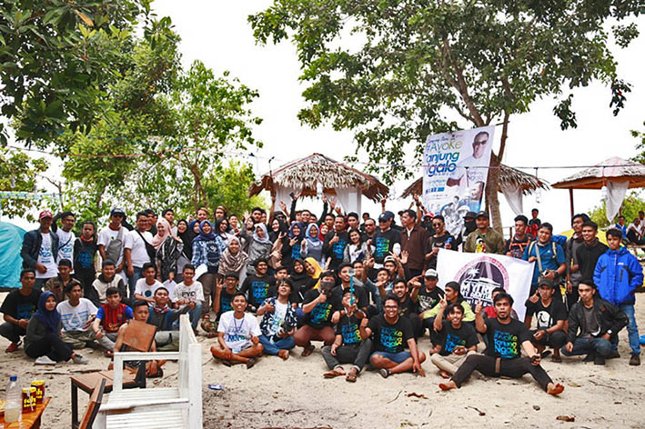 Komunitas JPeG-Pemkab Mamuju Explore Tanjung Ngalo