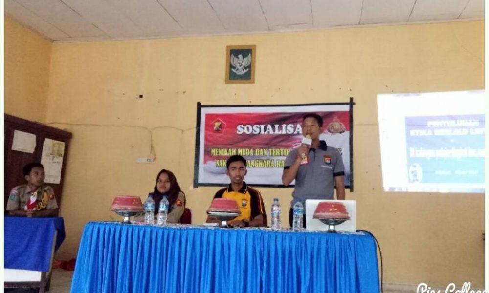 Bhabinkamtibmas Polres Pasangkayu Lakukan Sosialisasi Penikahan Dini