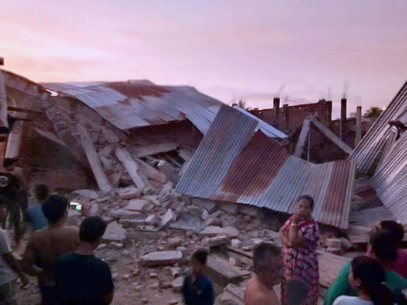Getaran Gempa Donggala Terasa ke Mamuju