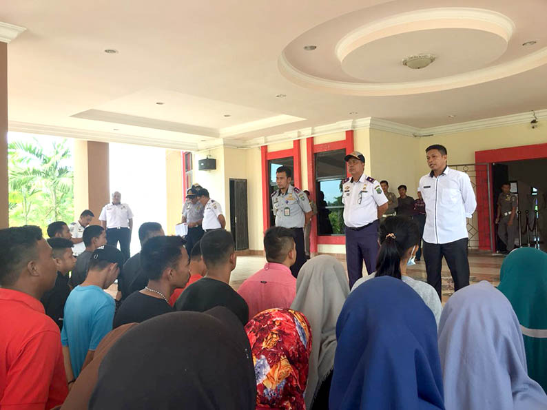 Pemkab Pasangkayu Berangkatkan Peserta Pelatihan Pelaut Gelombang II ke Barombong