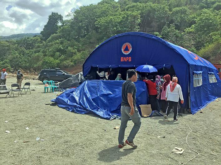 Tanggap Darurat Berakhir, Posko Logistik Pasangkayu Mulai Berkemas