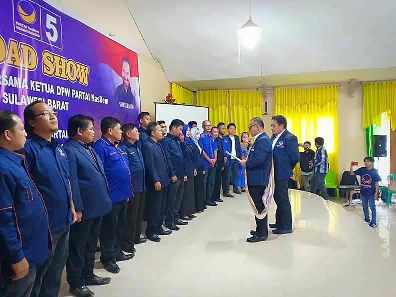 Ketua DPW Lantik Pengurus DPD Mamasa