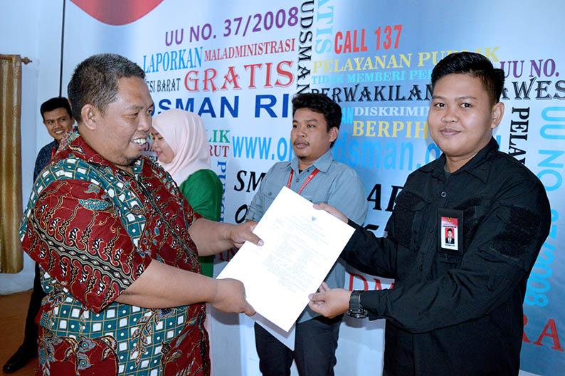 Ombudsman Sulbar Bentuk Tim Pengawasan Rekrutmen CPNS 2018