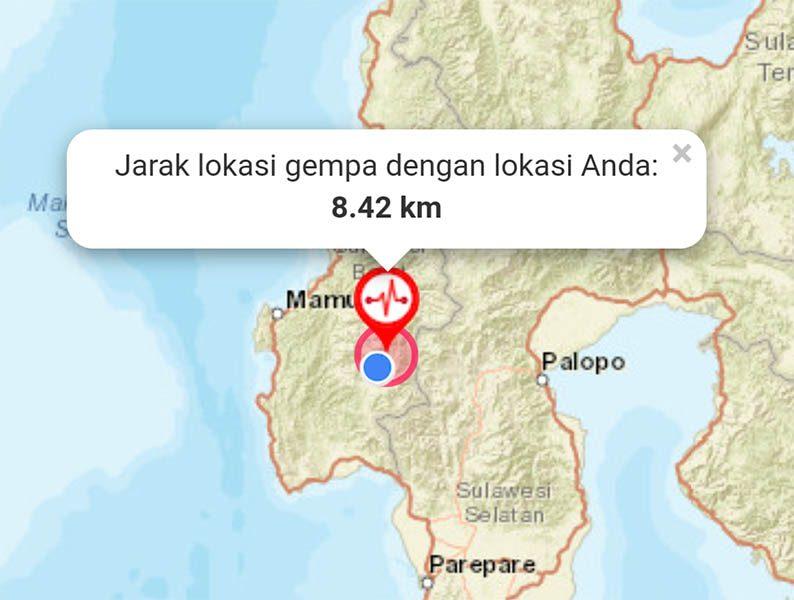 Gempa Melanda Mamasa, Setda Imbau Masyarakat Tetap Tenang
