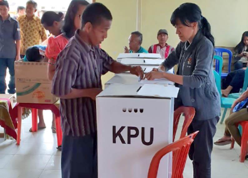 KPU Mamasa Beri Pendidikan Pemilu Kepada Penyandang Disabilitas