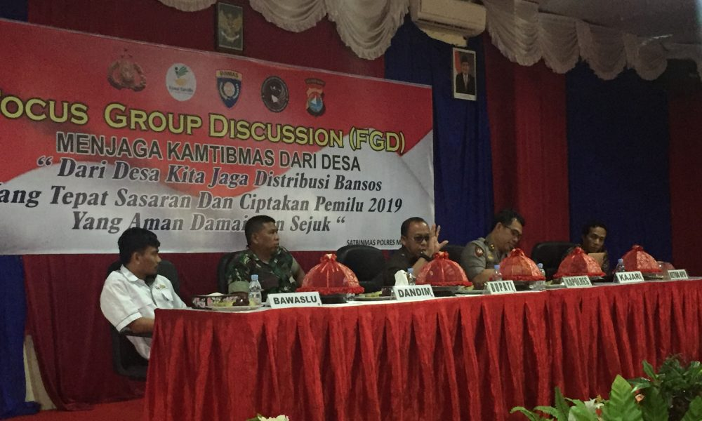 Bupati Pasangkayu Serukan Persatuan Suksekan Pemilu 2019