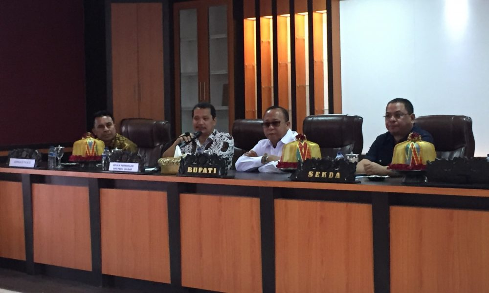 Dihadapan BPK, Bupati Pasangkayu Komitmen Wujudkan Good Governance