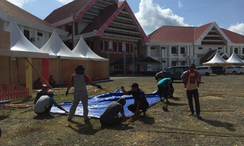 Perayaan HUT Pasangkayu Ke 16, Stand Pameran Pembangunan Mulai Ramai