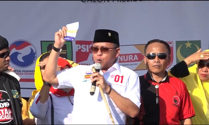 Kampanye di Pasangkayu, Tim Jokowi-Ma'ruf Perkenalkan Tiga Kartu Sakti