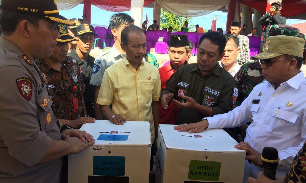 Amankan Pemilu, Polres Pasangkayu Kerahkan 350 Personil