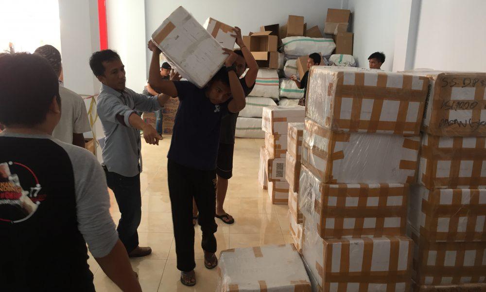 Susu Tiba di Pasangkayu, KPU Siapkan 500 Tenaga Sortir