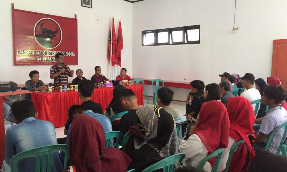 Target Delapan Kursi, PDIP Pasangkayu Perkuat Saksi TPS