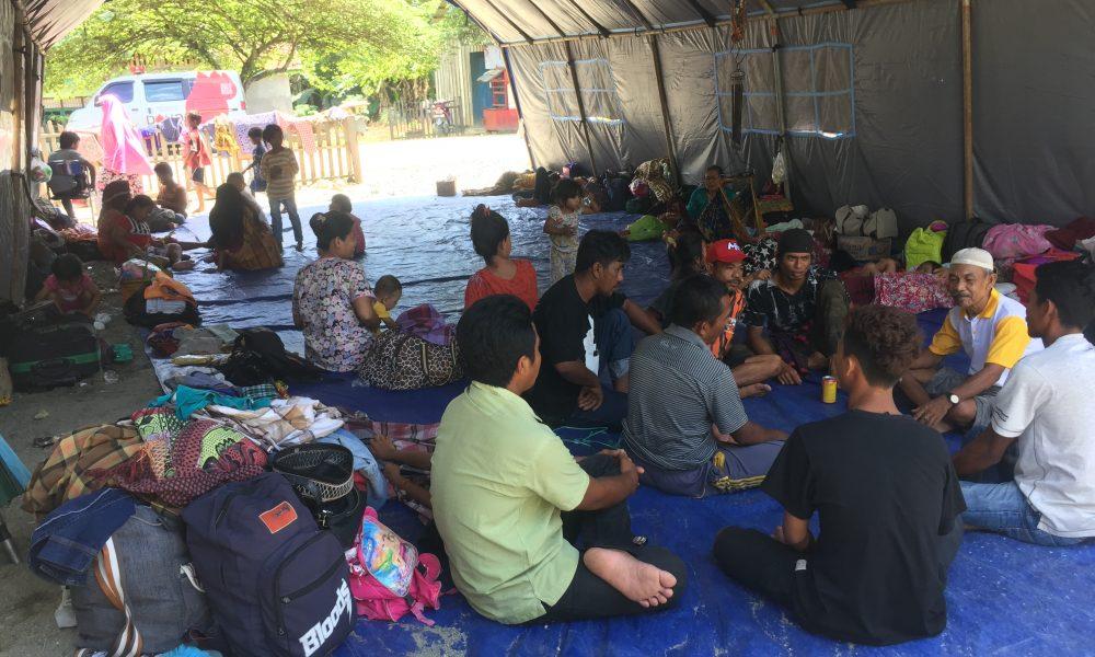 Banjir Belum Surut, 259 KK Warga Lariang Mengungsi