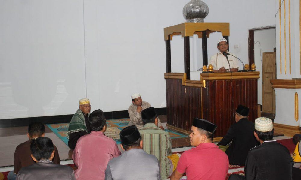 Bupati Awali Safari Ramadhan Di Mambi