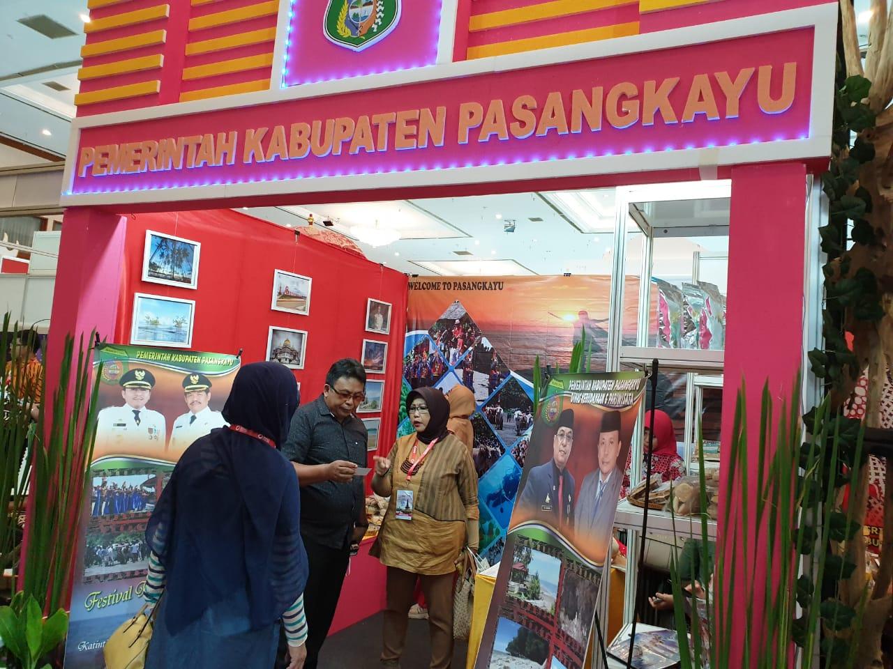 Ikuti Destinasi Indonesia Expo 2019, Pemkab Pasangkayu Masuk 40 Besar