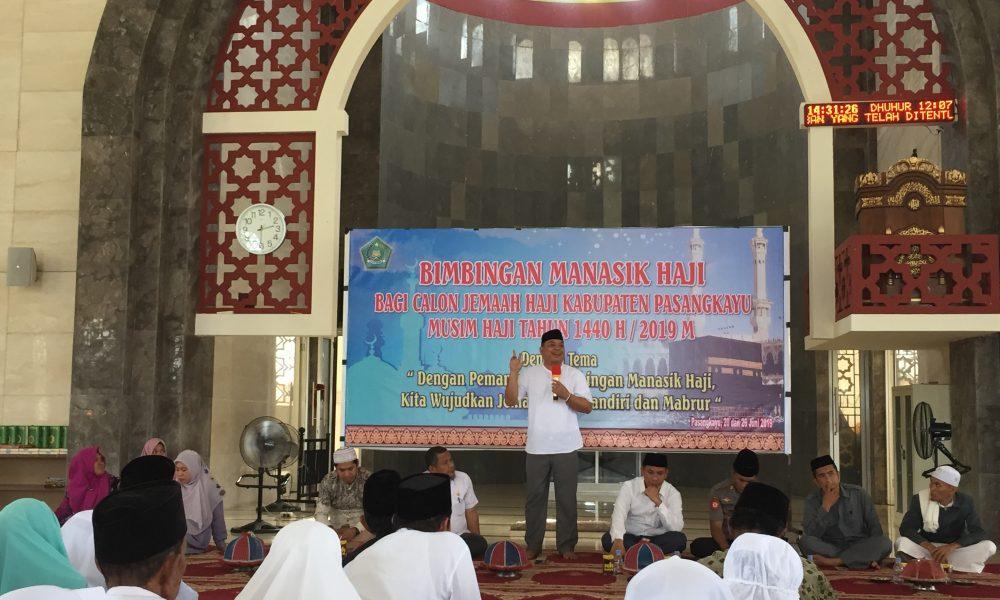 Tutup Manasik Haji, Ini Pesan Sekkab Pasangkayu