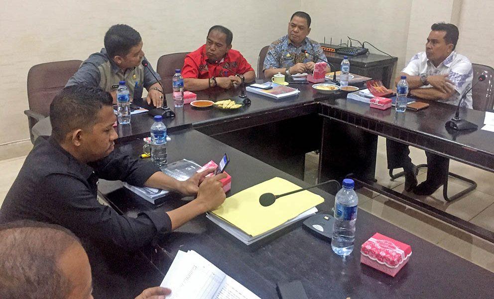 TAPD-Banggar DPRD Pasangkayu Mantapkan Pembahasan KUA-PPAS 2020