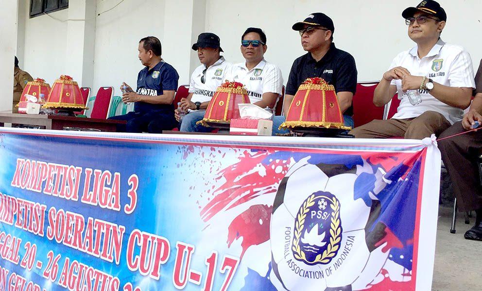 Di Stadion Gelora Djiwa, Bupati Pasangkayu Buka Perhelatan Liga III