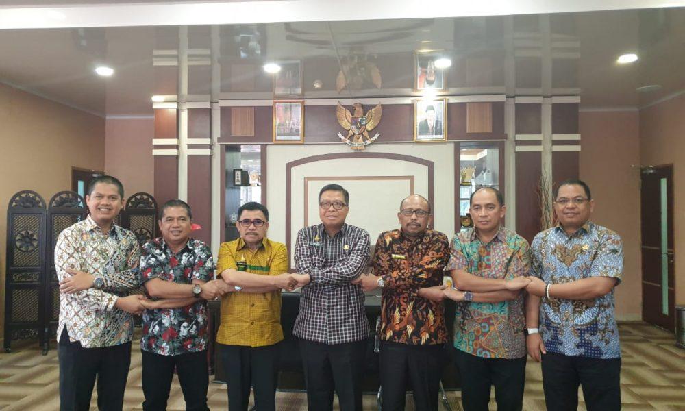 Pemkab Pasangkayu dan Pemkab se-Sulbar Rakor Dengan KPK RI.