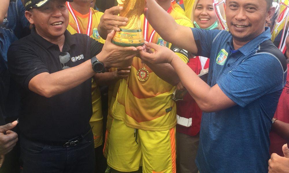 Perhelatan Bupati Cup Diharap Jadi Motivasi Generasi Sepak Bola Pasangkayu