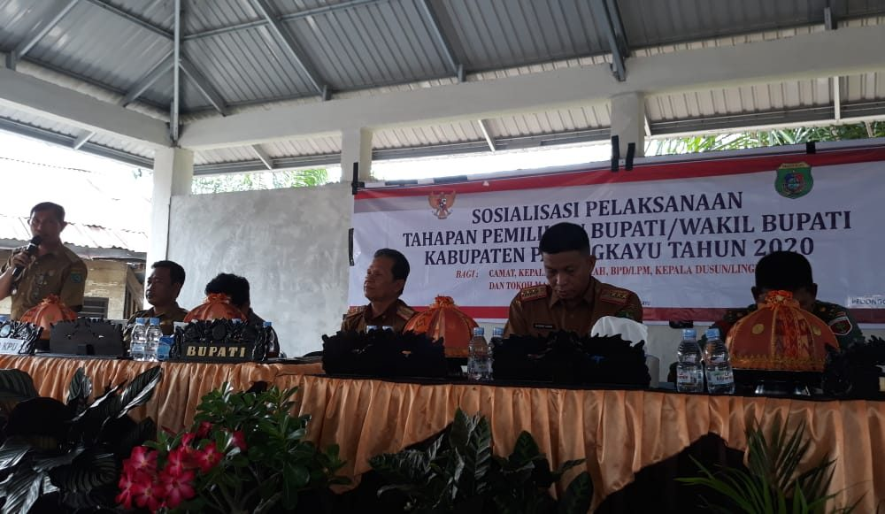KPU-Pemkab Pasangkayu Sosialisasikan Tahapan Pilkada