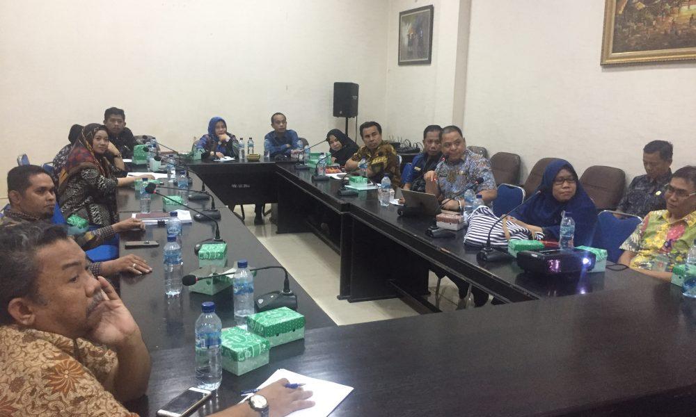 Dihadapan Banggar, Sekkab Pasangkayu Paparkan Arah Kebijakan RKPD 2020