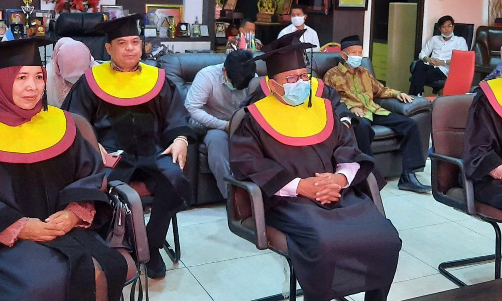 Happy Graduation, Bupati, Sekkab, dan Ketua TP PKK Pasangkayu