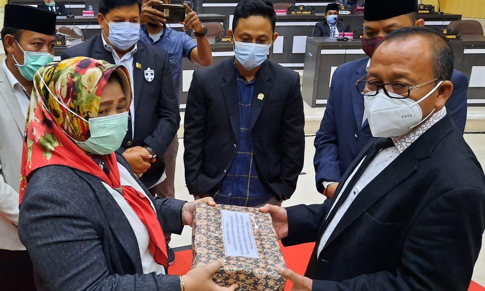 APBD 2021 Kabupaten Pasangkayu Ketuk Palu
