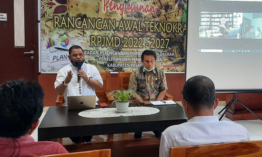 Pemkab Pasangkayu Susun Rancangan Awal Teknoratik RPJMD 2022-2027