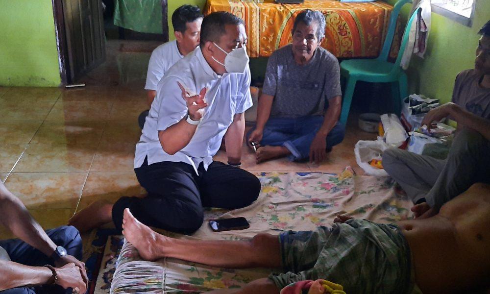 Sekkab Sidak di Bambalamotu, Sempatkan Kunjungi Warga