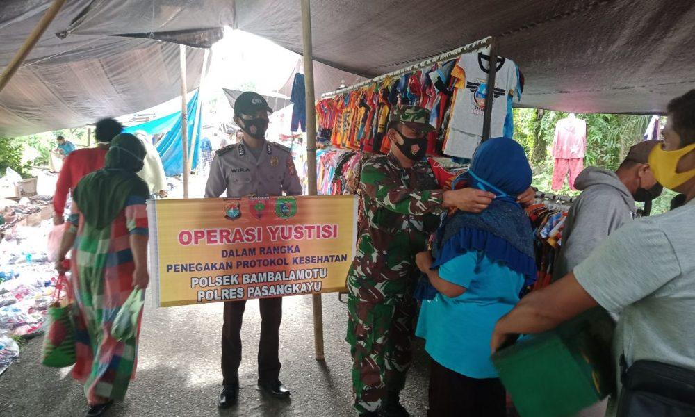 TNI-Polri Operasi Yustisi di Tampaure
