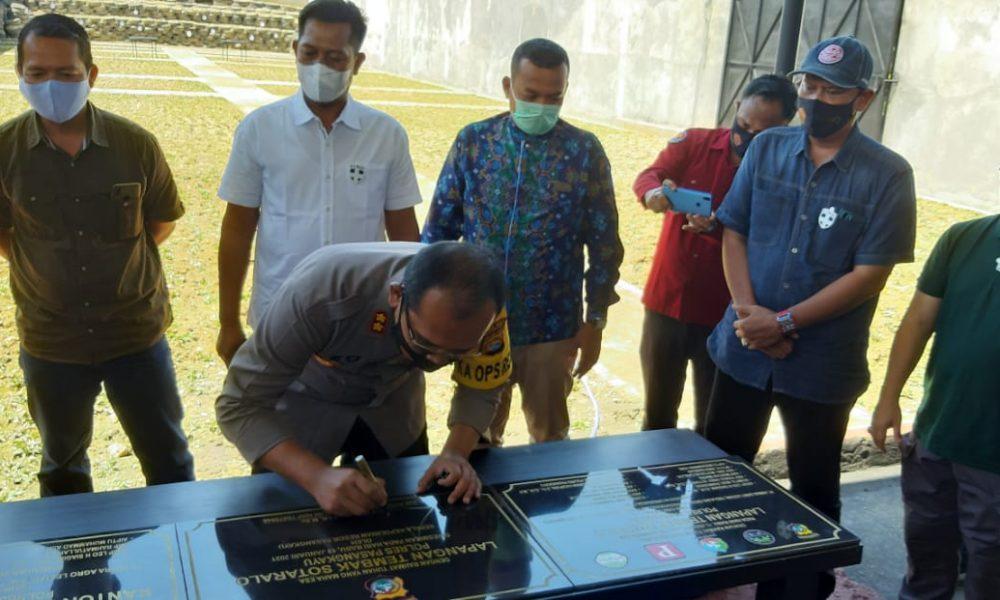 Lapangan Tembak Sotaralo dan Kantor Polsubsektor Sarjo di Resmikan
