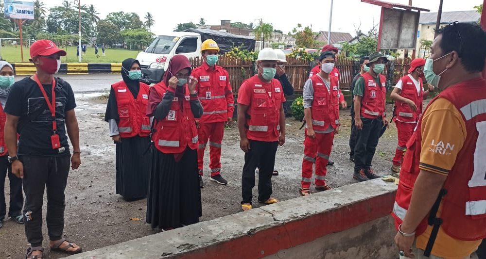 PMI Pasangkayu Kirim Tim Evakuasi dan Bantuan Logistik