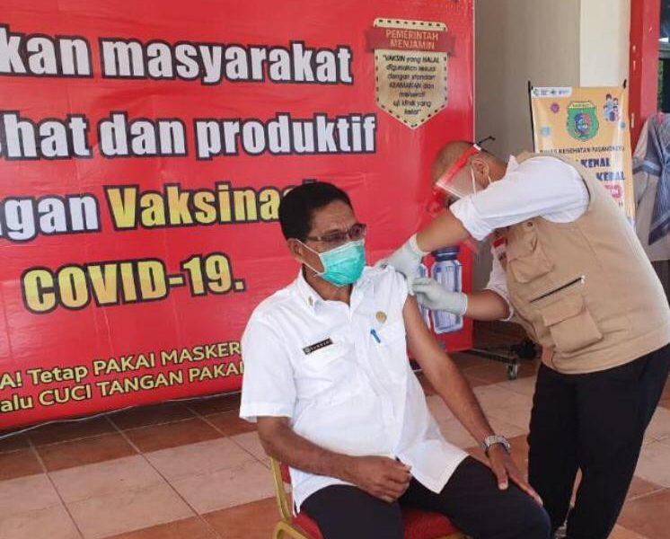 Setelah Pelantikan, Vaksinasi Tahap Dua Diagendakan