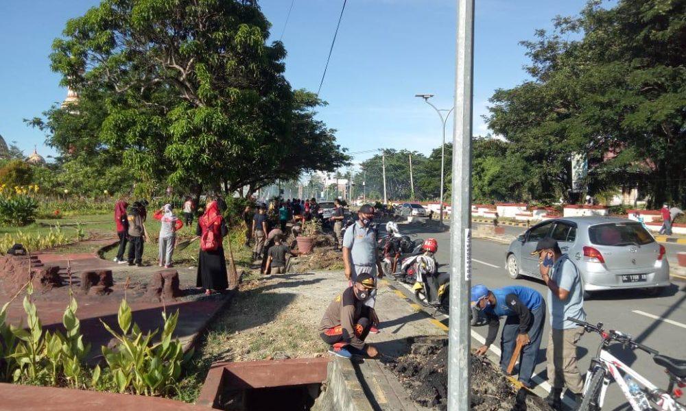 Bersihkan Kota, Pemkab Pasangkayu Galakkan Kerja Bakti