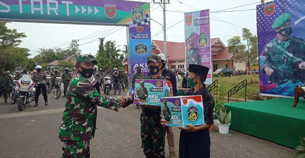 Kodim 1427 Pasangkayu Launching Tagline ASR