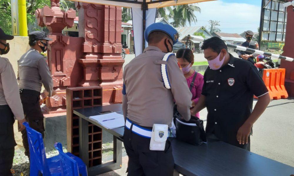 Penjagaan Kantor Polres Pasangkayu Diperketat