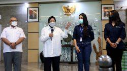 Terima Bantuan 1 Juta Antis, Mensos Ajak Dunia Usaha Peduli Bencana