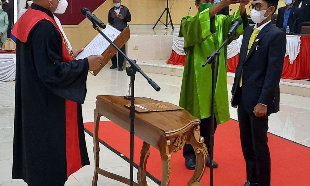PAW Wakil Ketua DPRD Pasangkayu Dilantik, Ini Harapan Bupati