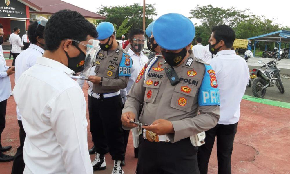 Propam Polda Sulbar Cek Kedisiplinan Personel Polres Pasangkayu
