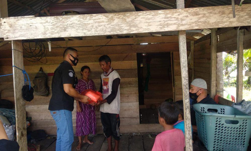 Jelang Ramadan Polres Pasangkayu Berbagi Untuk Warga Miskin